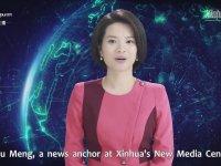 Yapay Zekalı İlk Kadın Sunucunun Tanıtılması - Çin