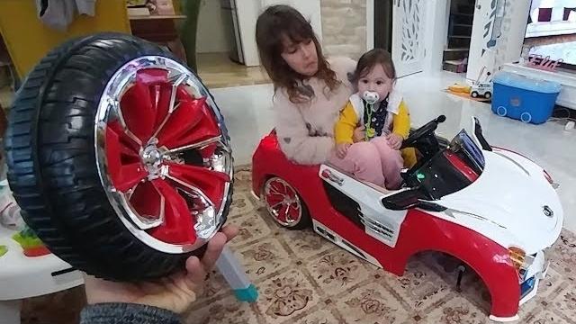 Berkay Bebek Formula Araba Kullanıyor. Evi Darmadağın Etti Eve Tamirci Geldi
