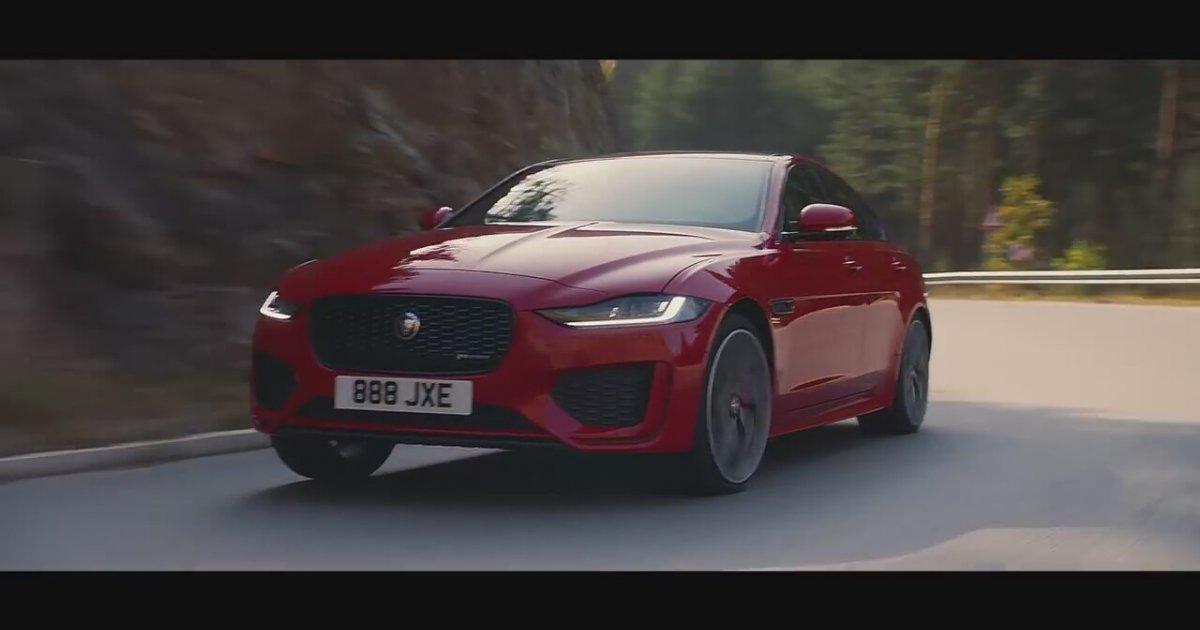 New Jaguar XE...
