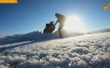 Buz Tutan Baykal Gölünde Tek Başına 700 Km Yürüyen Kadın