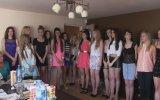 Evin Salonunda Düzenlenen Miss Polonya 2014