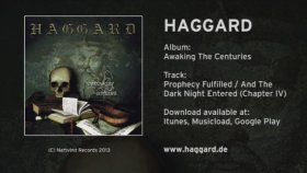 Haggard - Prophecy Fulfilled and As the Dark Night Entered
