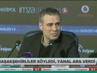 Ersun Yanal'ın Basın Toplantısını Bölen Başakşehirli Futbolcular