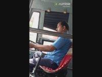 Otobüs Kullanırken Uyuklayan Şoför