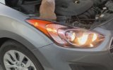 Arabanın Motorundan Çıkan Şaşkın Kedi