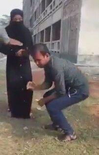 Aldatan Kocasını Tokat Manyağı Yapan Kadın