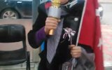 Karaoke Mikrofonla Seçim Çalışması Yürüten Belediye Başkan Adayı  Zeynep Çiçek
