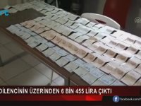 Üzerinden 6 Bin 455 Lira Çıkan Dilenci