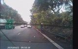Bodoslama Kaza Yapan Motosikletli