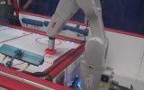 Hatasız Hava Hokeyi Oynayan Robot