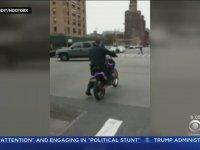 Polisin Motosiklet ile İmtihanı