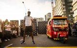 Usain Bolt'un Triportörle Yarışması
