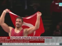 Taha Akgül'ün 7. Kez Avrupa Şampiyonu Olması