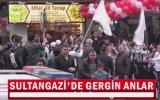 İstanbul'da Suriye Marşı ile Dükkan Açılışı