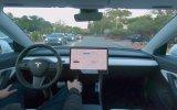 Tesla'nın Otonom Olarak Giden Aracı