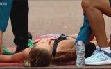 Maratonu Sürünerek Bitiren Koşucu
