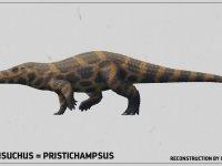 Uzun Bacaklı ve Toynaklı Timsah Boverisuchus