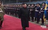 Kim Jong Un'un Ülkeye Dönüşünde Coşkuyla Karşılanması