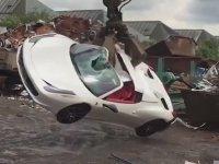 Ferrari 458 Spider Parçalayan İngiliz Polisi