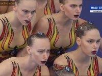 Rus Su Balesi Takımı - 2018 Avrupa Şampiyonası Gösterisi