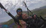 Dımbıllan Dayının Yamaç Paraşütü Keyfi