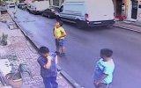 İkinci Kattan Düşen Bebeği Havada Yakalayan Genç