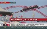 Roller Coaster Gördüğüne Aşırı Sevinen Muhabir