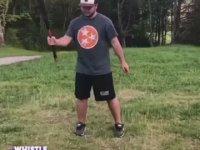 Beyzbol Sopasını En Afilli Kullanan Adam