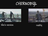 Chernobyl Dizisi ve Gerçek Çernobil