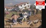 Düzce Depremi  Cenazeler Defnediliyor 1999