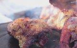 Soğuk Havada Çıtır Çıtır Kızarmış Tavuk