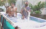Toros'tan Yaptıkları Limuzini Havuz Yapan Facia Üçlü