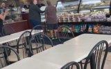 Donut Dükkanında Herkese Diklenen Asabi Abi 2