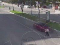 Kütahya'da Meydana Gelen Saçma Sapan Trafik Kazası