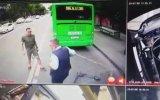 Otobüs Şoförünü Dövdükten Sonra Belasını Bulan Scooter'lı