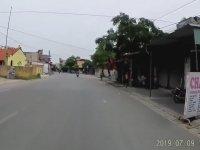 Polise Motosikletle Çarpmak