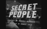 Secret People (1952) Fragman