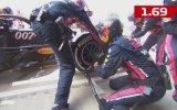 Formula 1'de Pit Stop Rekoru Kırmak  1.91 Saniye