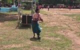 Futbol Oynayan Torununa Hakkıyla Destek Veren Büyükanne