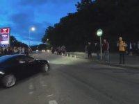 Araç Buluşmasında Birbirine Giren Arabalar