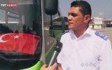 Türk Bayrağını Yerde Bırakmayan Otobüs Şoförü
