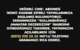 Cine5  Şifreli Yayına Geçiş