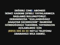 Cine5 - Şifreli Yayına Geçiş