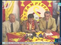 Gheorghe Hagi İmza Töreni (31 Temmuz 1996)
