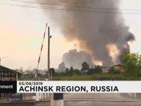 Mühimmat Deposu Patlarken, Sudan Çıkmayan Ruslar