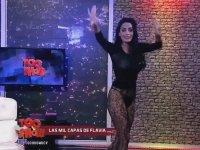 Arjantin Devlet Televizyonunda Kat Kat Soyunmak