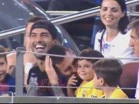 Messi'nin Oğlunun Rakip Takımın Golüne Sevinmesi