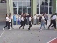 Kadıköy Anadolu Lisesi Simit Atma Töreni
