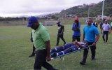 Maç Sırasında Futbolculara Yıldırım Çarpması