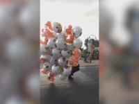Baloncunun Rüzgar ile İmtihanı